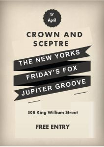 Friday's Fox, Jupiter Groove, The New Yorks Poster