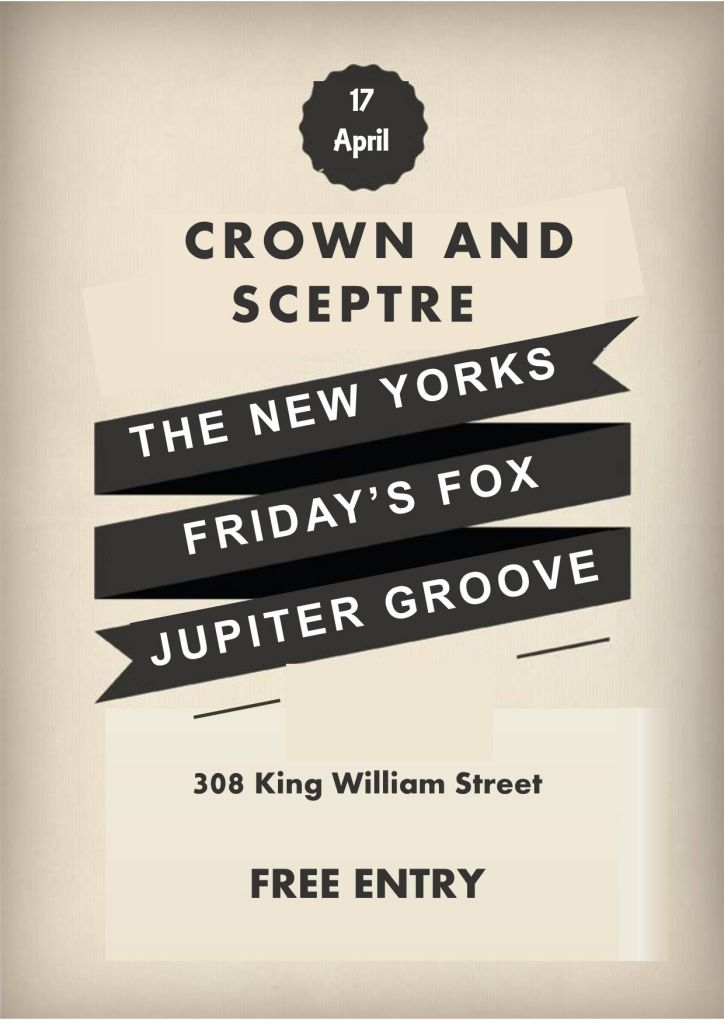 Friday's Fox, Jupiter Groove, The New Yorks Poster